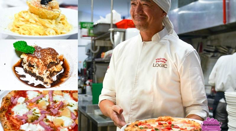 Trattoria Pizzeria LOGIC – Naples-style Pizza & Italian Pasta in Craig Road