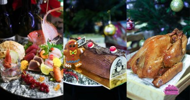 Taste Singapore One-stop Christmas Takeaway for Whisky Ham, Guinness Sausages, Sushi Platters, Log Cakes & more