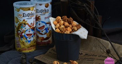 An An An Tottemo Daisuki Doraemon x myEureka Special Edition Popcorn available in three flavours