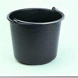 Bouwemmer zwart 20ltr
