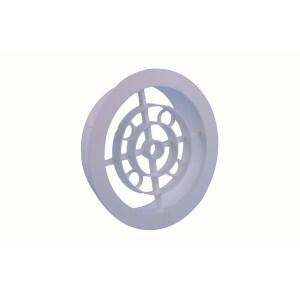 Ventilatierooster Wit Diameter 100mm