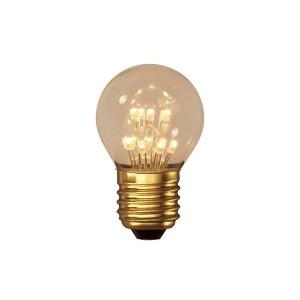 LEDlamp Pearl kogel E27 1 W 2100K Calex