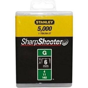 Stanley nieten 6MM TYPE G -5000 stuks