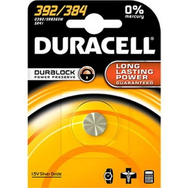 DURACELL SILVEROXIDE 1 X 392/384 1 ,5V ZILVER DURACELL