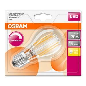 OSRAM F-LED CLA75H8,5W DIM E27 BLS