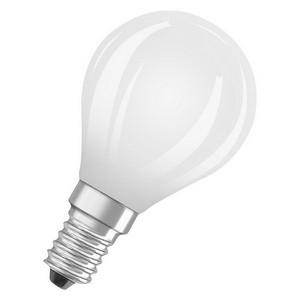 Osram LED retrofit kleine bol E14 4,5W warm wit vervangt 40W