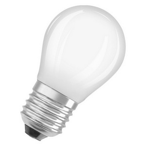 Osram LED retrofit kleine bol E27 5W warm wit dimbaar vervangt 40W