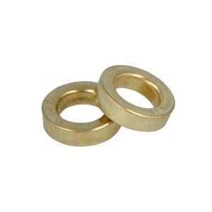 Paumelle ringen messing 9,8mm