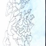 11—Samurai art drawing ooaworld ooaddle