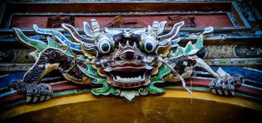 entrance imperial city hue vietnam