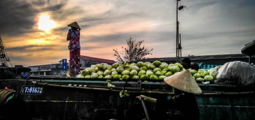 Boat stand cai rang vietnam photo rolling coconut ooaworld