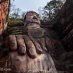 Giant Buddha Chengdu Shi,