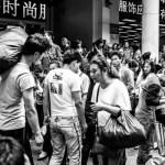 textile crowd Guangzhou China