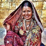Jaisalmer India Portrait woman Instagram Photo