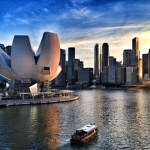 Singapore Skyline Instagram Photo