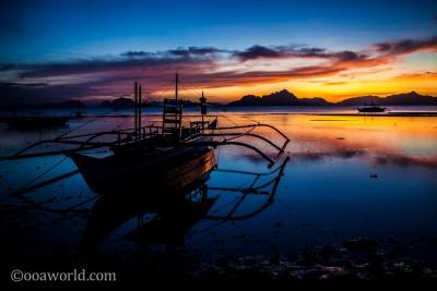 El Nido Sunset Palawan Philippines 6