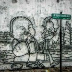 seafront shops street art georgetown malaysia