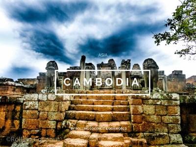 Cambodia Travel Ooaworld Rolling Coconut photo Ooaworld