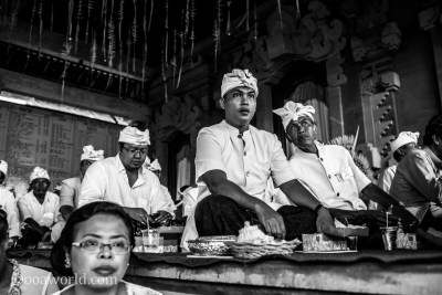 Full Moon Priests Bali Indonesia photo Ooaworld