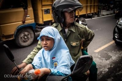 Photo Going to School Yogyakarta Indonesia Ooaworld