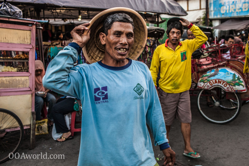 Photo Indonesian Becak Driver Ooaworld