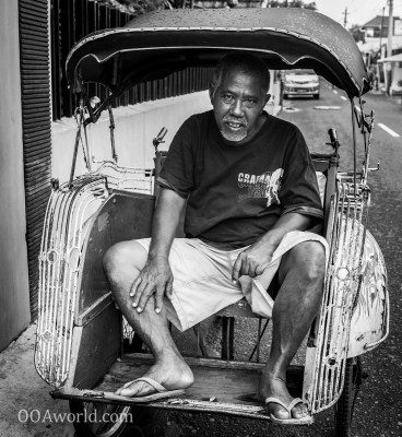 Photo Jogja Pedicab Indonesia Ooaworld