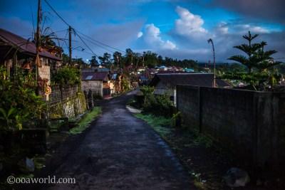 Mount Batur Village View Bali photo Ooaworld