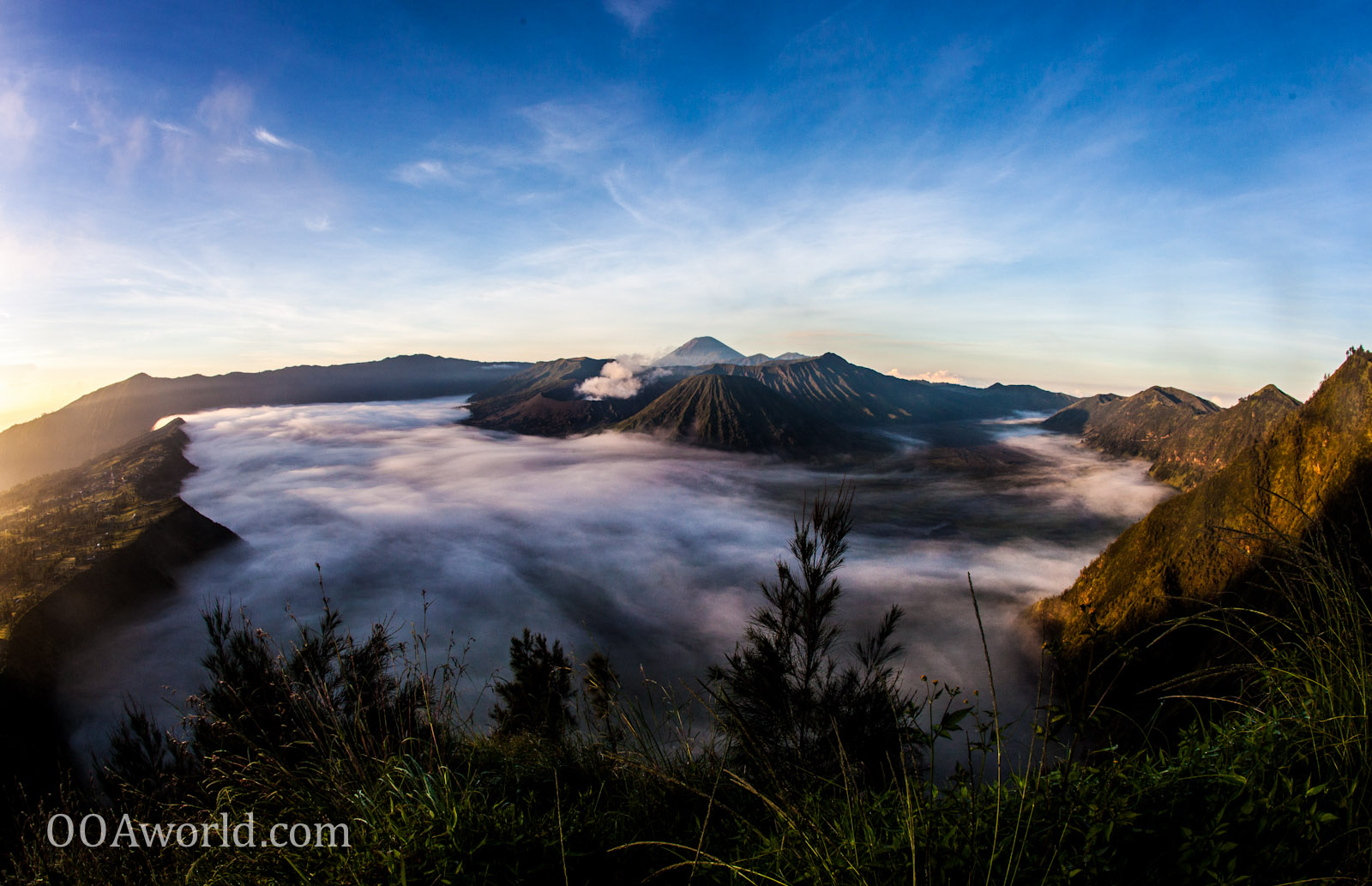 Bromo Photo Indonesia Clouds Swirling Ooaworld