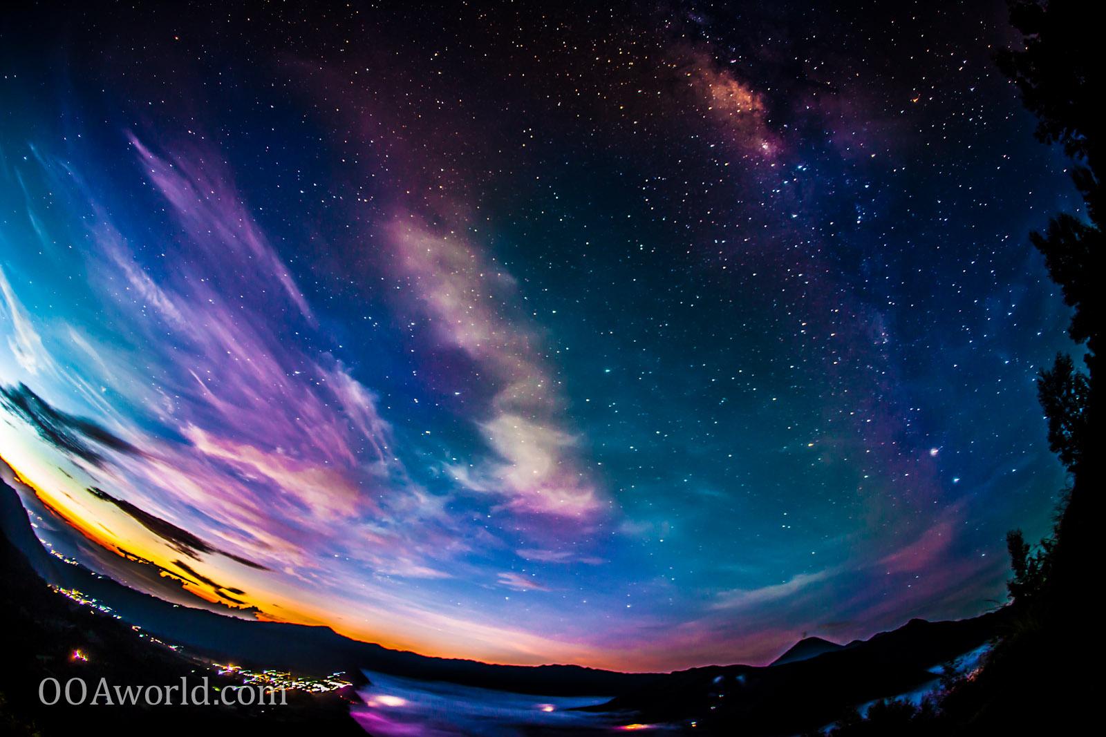 Photo Mount Bromo Indonesia Stars Ooaworld