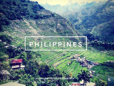 Philippines Travel Ooaworld Rolling Coconut photo Ooaworld