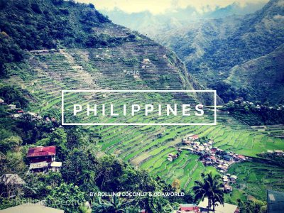 Philippines Travel Ooaworld Rolling Coconut photo Ooaworld