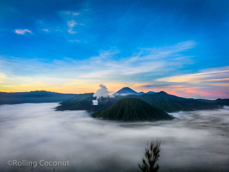 Photo Sunrise Bromo National Park Java Indonesia Ooaworld