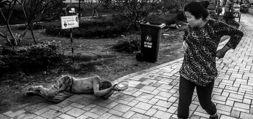 Begging for Life Vientiane Laos Photo Ooaworld