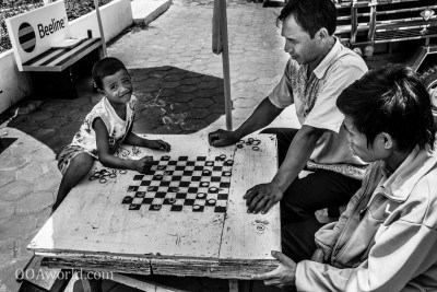 Child Checkers Laos Photo Ooaworld