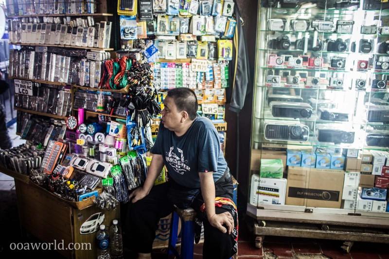 Electronic Street Shop Jakarta Indonesia Photo Ooaworld