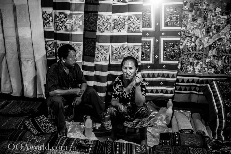 Husband and Wife Luang Prabang Laos Market Photo Ooaworld