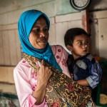 Mother Child Bandung Indonesia Photo Ooaworld