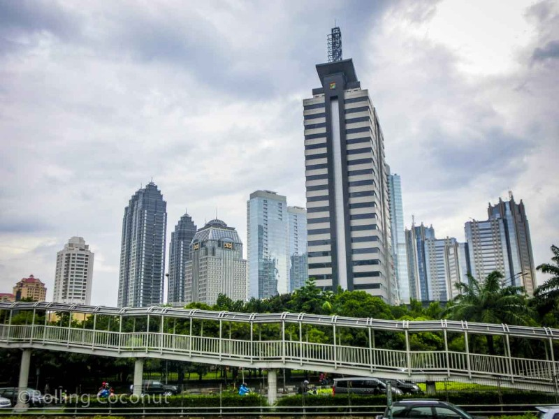 Skyline Jakarta Indonesia Photo Ooaworld