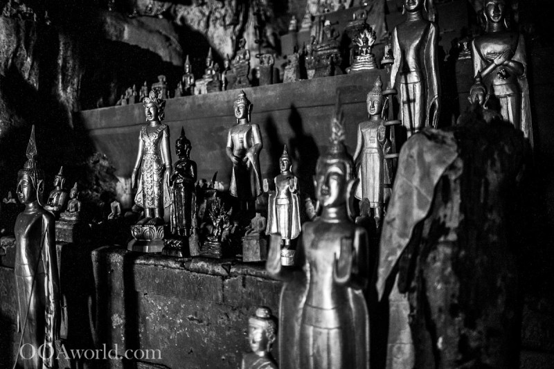 Buddhist Statues Pak Ou Caves Photo Ooaworld