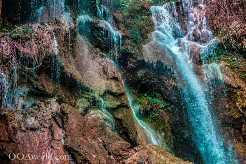 Kuang Si Falls Laos Abstract Texture Photography Photo Ooaworld