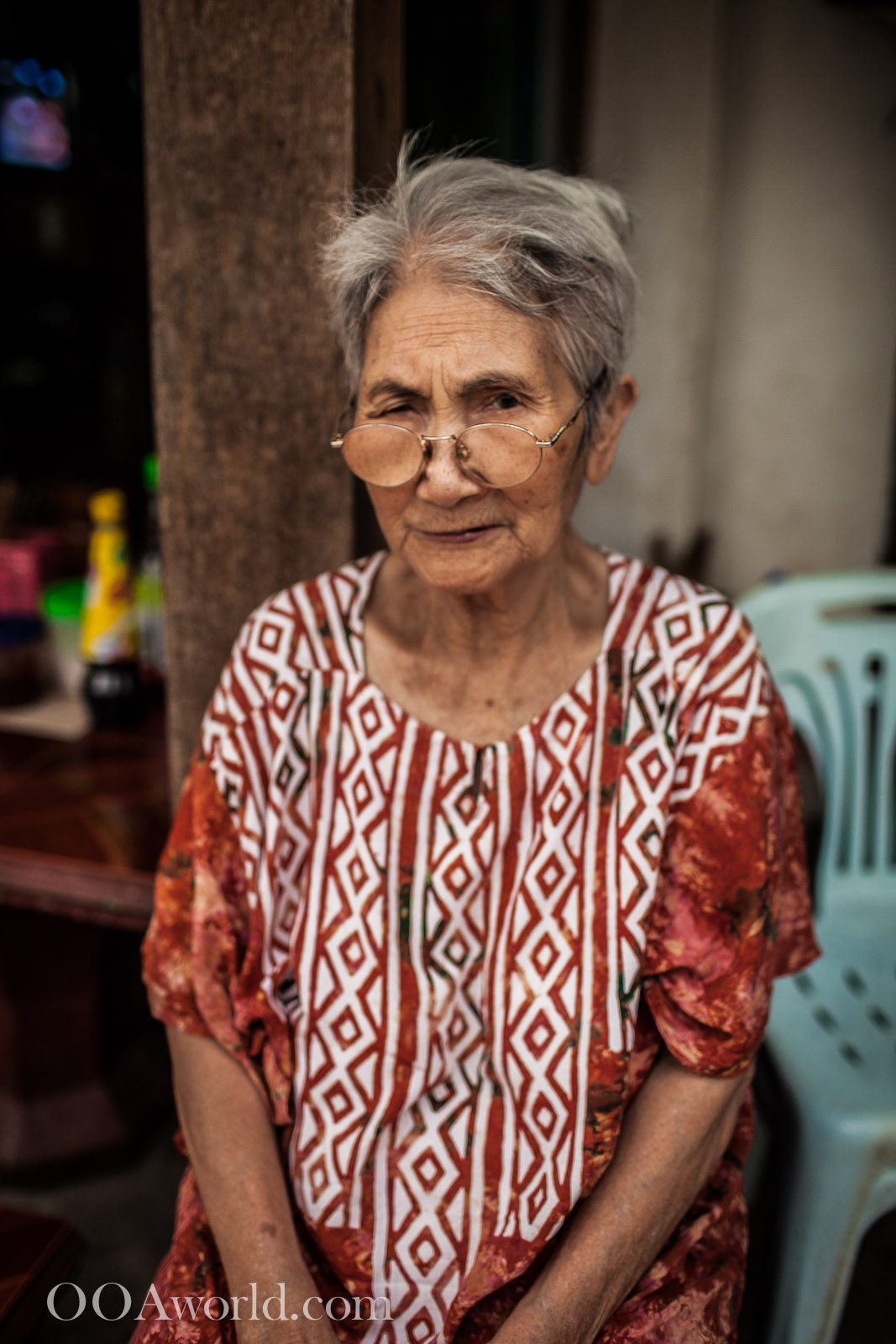 Luang Prabang Photo Portrait Lady Photo Ooaworld
