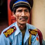 Luang Prabang Photo Portrait Police Laos Photo Ooaworld