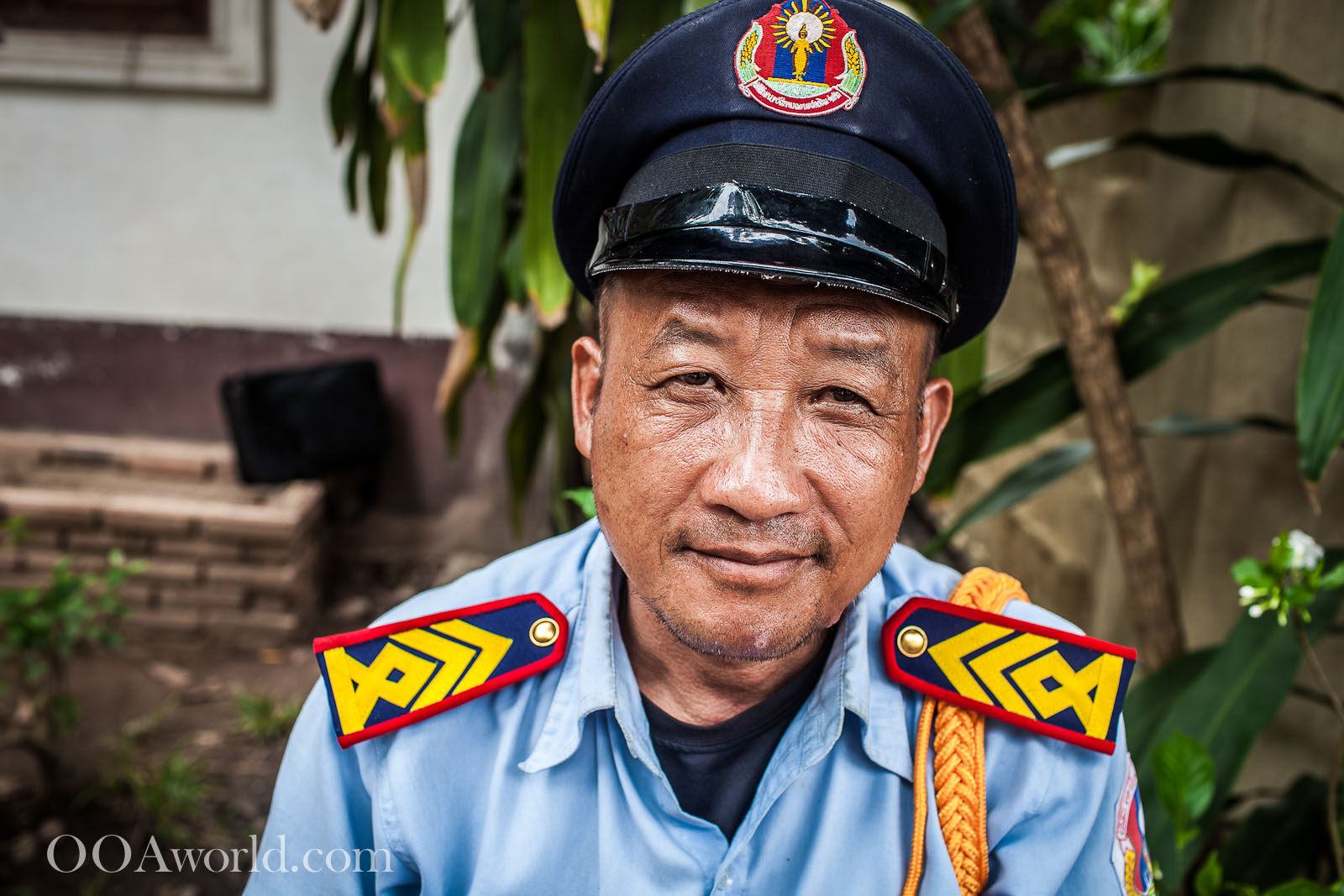 Luang Prabang Photos Police Officer Photo Ooaworld