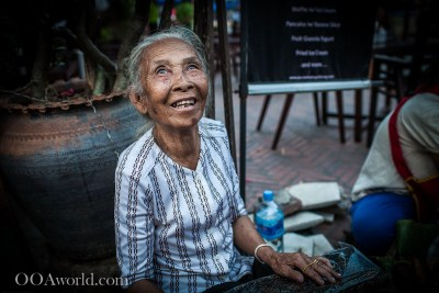 Luang Prabang Picture Photo Smiling Woman Laos Photo Ooaworld