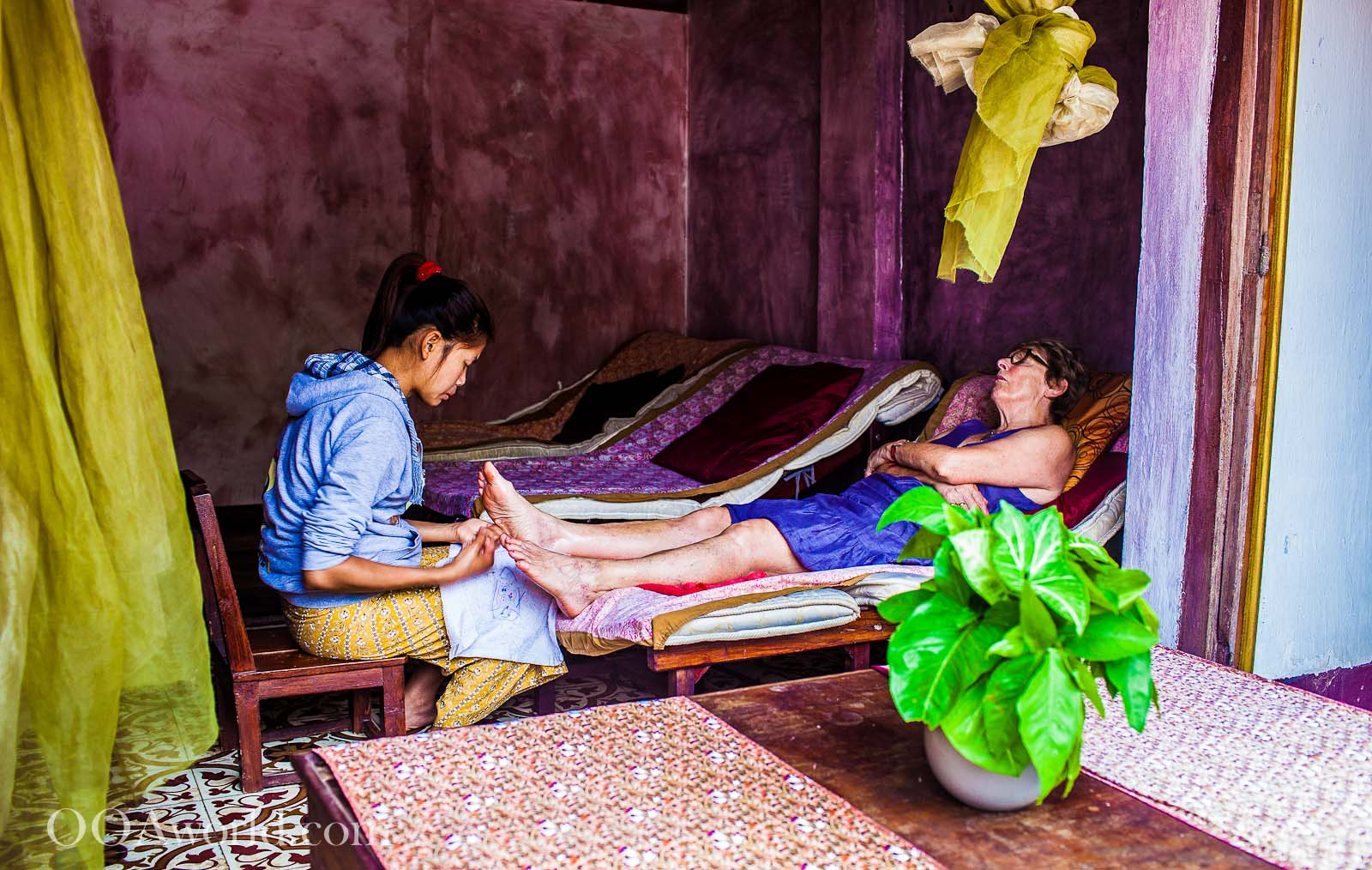 Massage Luang Prabang Laos Photo Ooaworld