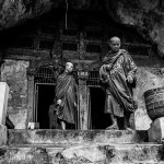 Pak Ou Caves Luang Prabang Monks Laos Photo Ooaworld