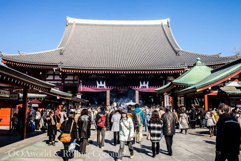 Things To Do in Tokyo on a Budget Senso-ji Temple Tokyo Photo Ooaworld