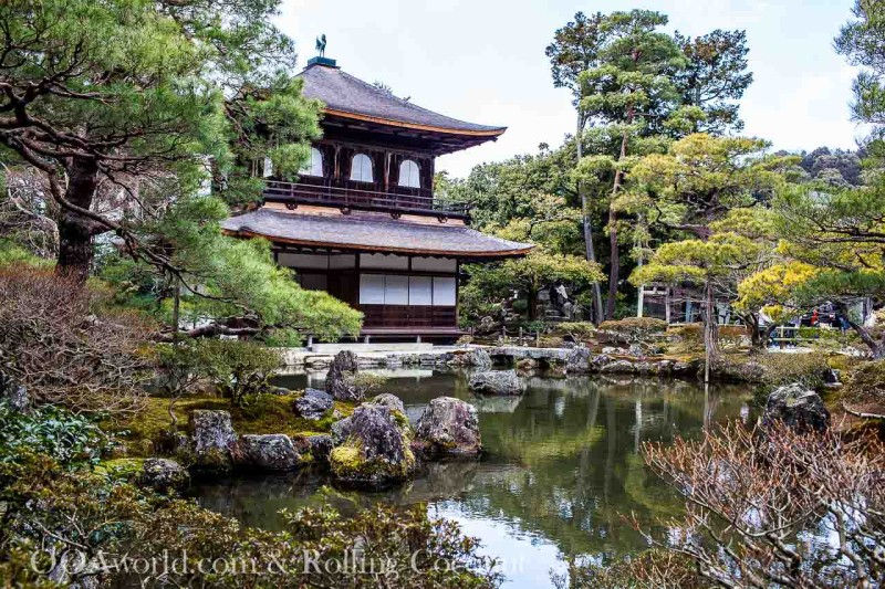 Silver Pavilion Ginkaku Ji Kyoto Japan Photo Ooaworld