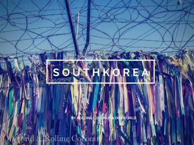 South Korea Travel with title Ooaworld Rolling Coconut Photo Ooaworld