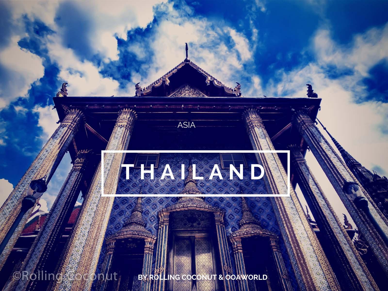 Thailand Travel Ooaworld Rolling Coconut Photo Ooaworld
